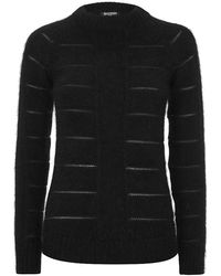 Balmain Angorablend Sweater - Lyst