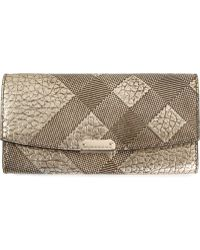 Burberry Tonal Check Purse - Lyst