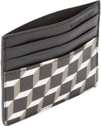 Pierre Hardy Cubeprint Card Case - Lyst