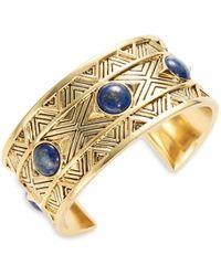 House of Harlow 1960 Dorelia Coin Cuff Bracelet