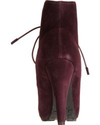 Proenza Schouler Laceup Ankle Boot - Lyst