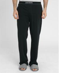 Lacoste   Black Pyjama Bottoms   Lyst