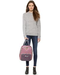 House of Holland | Floral Backpack - Polka Dot Flower | Lyst