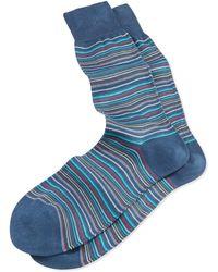 Paul Smith Mini-multi-stripe Socks - Lyst