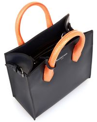 Balenciaga Padlock Nude Work Mini Cross-body Bag - Lyst