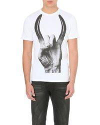 Diesel T-gard T-shirt White - Lyst
