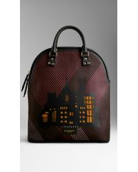 Burberry The Bloomsbury with City Motif - Lyst