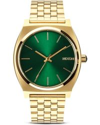 Nixon The Time Teller Sunray Dial Watch, 37Mm - Lyst