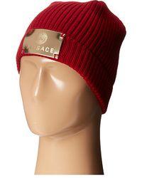 Versace hats - Lyst