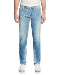 Dolce & Gabbana Slim-Straight Jeans - Lyst