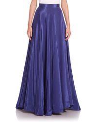 Nha Khanh - Angie Faille Long Skirt - Lyst