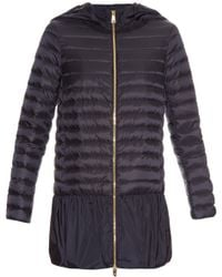 Moncler - Dragonnet Quilted Down Coat - Lyst