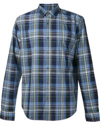 Vince Plaid Shirt - Lyst