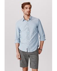 Faherty Brand Rainer Shirt Selvage - Lyst