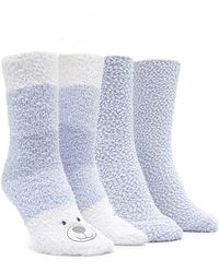 Forever 21 - Bear Graphic Cozy Socks Pack You've Been Added To The Waitlist - Lyst
