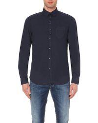 Diesel Tomiko Cotton Shirt - For Men - Lyst