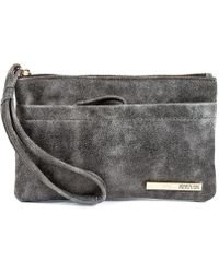 Kenneth Cole Reaction Its A Wrap Flat Wristlet - Lyst