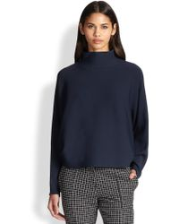 Apiece Apart Viola Slouched Tech Knit Turtleneck Sweater - Lyst