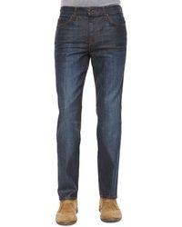 Joe's Jeans Brixton Coated Resin Slim-Straight Denim - Lyst
