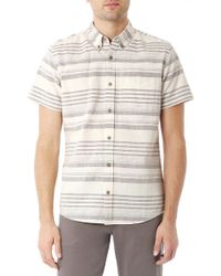 AG Adriano Goldschmied Aviator S/S Shirt - Lyst