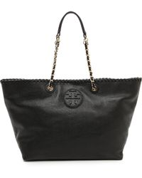 Tory Burch Marion Small Ew Tote - Lyst