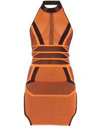 Alexander Wang Halterneck Mini Dress - Lyst