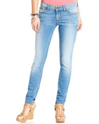 Guess Power Skinny Jeans, Voila Wash - Lyst