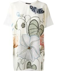 Gucci 'Flora Knight' Top - Lyst