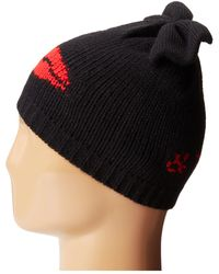 Betsey Johnson Kiss and Tell Bew Beanie Hat - Lyst