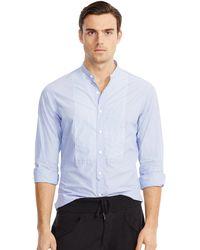 Ralph Lauren Black Label Striped-bib Nigel Sport Shirt - Lyst