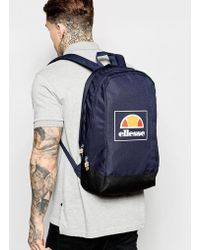Ellesse | Box Logo Backpack Exclusive To Asos | Lyst