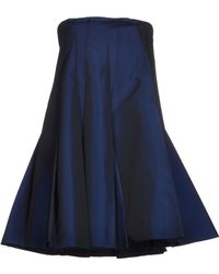 Viktor & Rolf Short Dress blue - Lyst