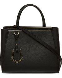Fendi 2Jours Mini Leather Tote - For Women - Lyst
