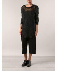 Junya Watanabe Long Knit Sweater - Lyst