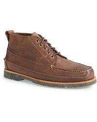 G.H.BASS - 'haven' Moc Toe Boot - Lyst