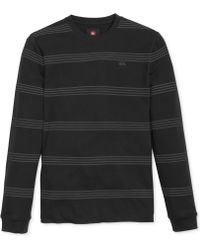 Quiksilver Wesley Striped Thermal Shirt - Lyst