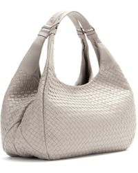Bottega Veneta Campana Intrecciato Leather Tote - Lyst