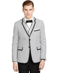 Brooks Brothers Stripe Seersucker Formal Jacket - Lyst