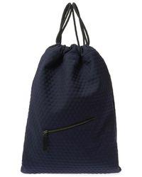 Jil Sander - Bubble-Effect Twill Backpack - Lyst