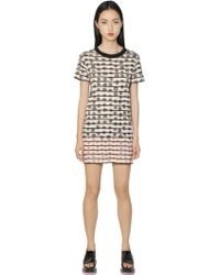 Sonia by Sonia Rykiel Floral Printed Cotton Jersey Dress - Lyst