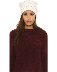 Markus Lupfer - Scattered Jewels Beanie Hat - Lyst