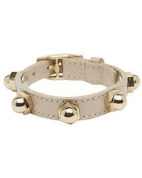 CC SKYE Bolt Wrap Leather Bracelet - Lyst