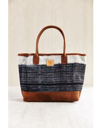 Will Leather Goods - Indigo Batik Tote Bag - Lyst