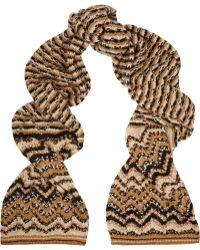 Missoni Wool-blend Scarf - Lyst