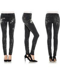 Joe's Jeans Thriller Zip Skinny - Lyst