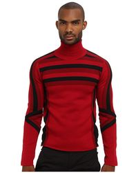 Costume National Runway Ombre Turtleneck Sweater - Lyst
