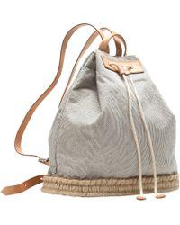J.Crew - Pre-Order Skinny Stripe Drawstring Backpack - Lyst