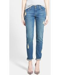 James Jeans Slim Slouchy Boyfriend Fit Jeans blue - Lyst
