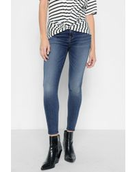 Aubrey Super High Waist Skinny Jeans - Bair vintage blue 7 For All Mankind 18Ak6kH
