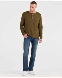 7 For All Mankind - Airweft Denim Standard In Riptide - Lyst